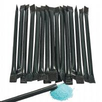 Black Candy Filled Straws (240)